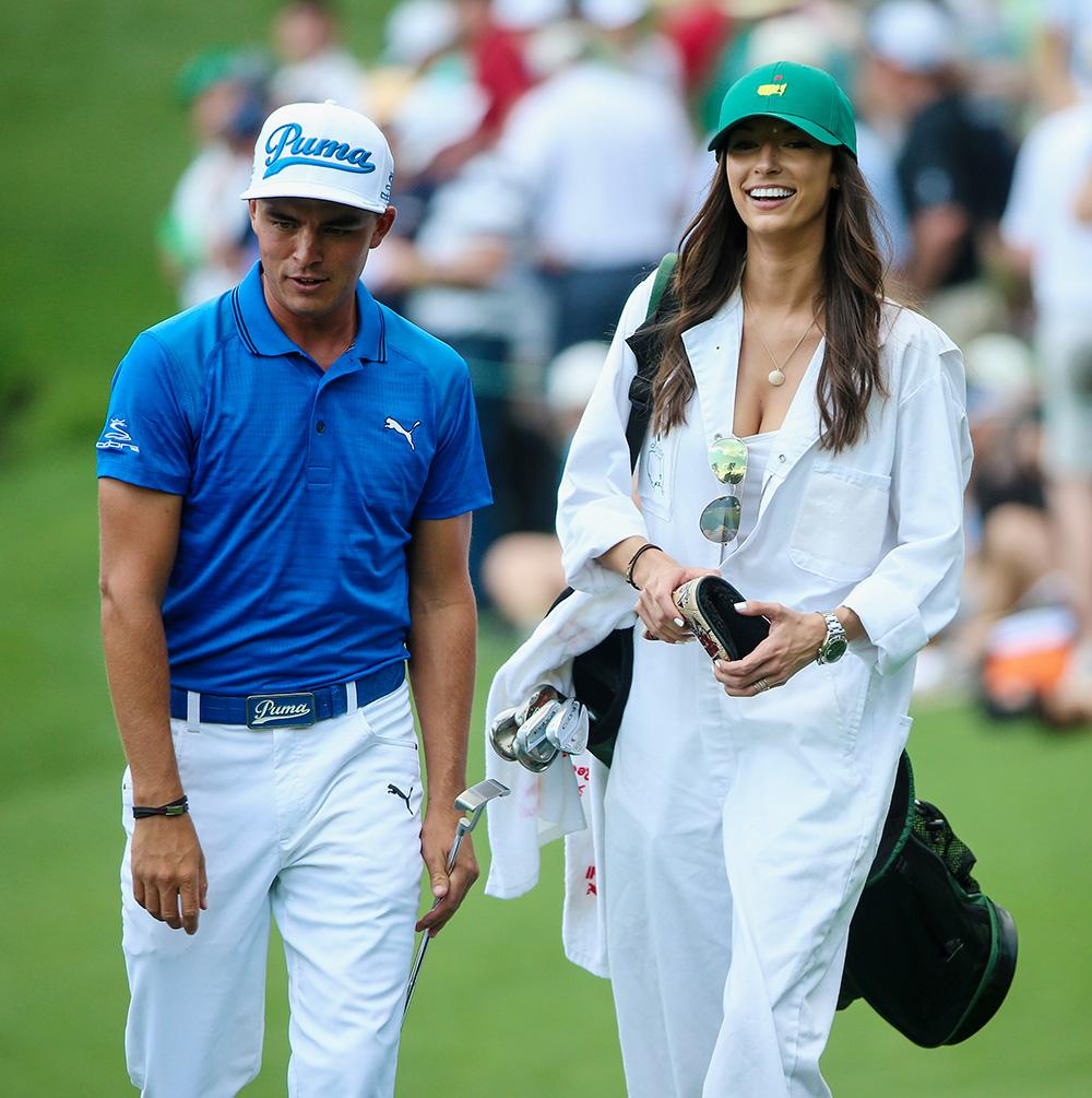 Allison Stokke Latest News Photos And Videos: Rickie Fowler And His Girlfriend Alexis Randock At The Par