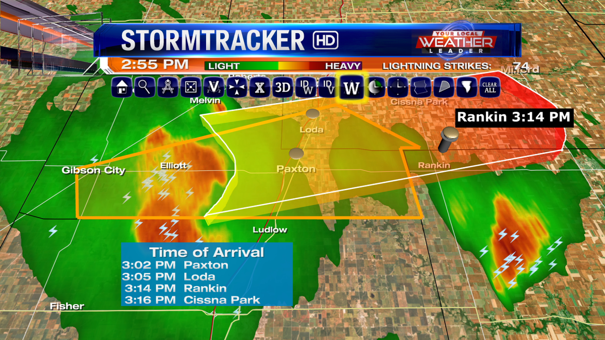 Champaign county dropped from the warning area.  Ford and Iroqouis County remains until 3:15 PM.  #cILwx http://t.co/Et0H9pZ6p7