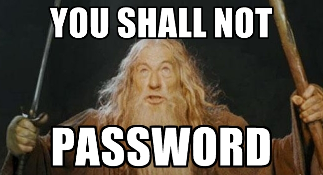 When my friends' phones aren't PIN'd, I change their contact names to LOTR characters. #lotr #PasswordConfession http://t.co/0ayU0ueZl4