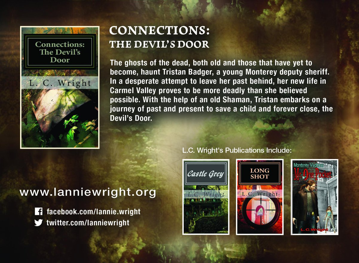 Great Author. Scary novels. Connections - The Devil's Door http://t.co/krtyLXhTse http://t.co/tYKXKHVjTj