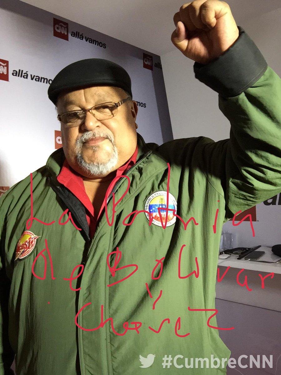 #CumbreCNN #CumbrePanama en directo desde nuestro Red Room con Wills Rangel de la @cbolivariana