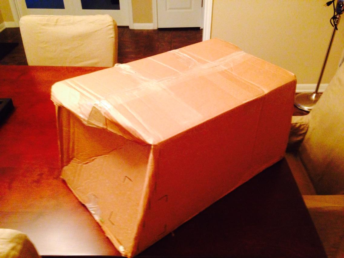 Good job #UPS! Good thing this was a package of pillows. http://t.co/7QHqVZLJGR