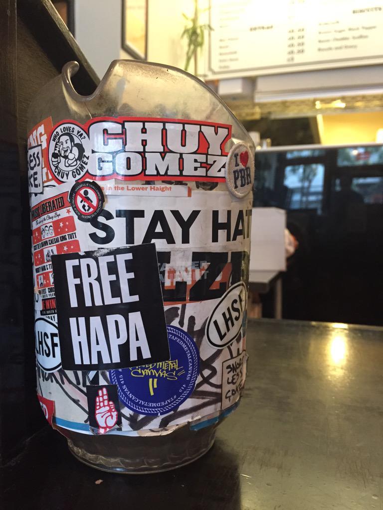 PRO TIP: #FREEHAPA http://t.co/894z5e7CwW