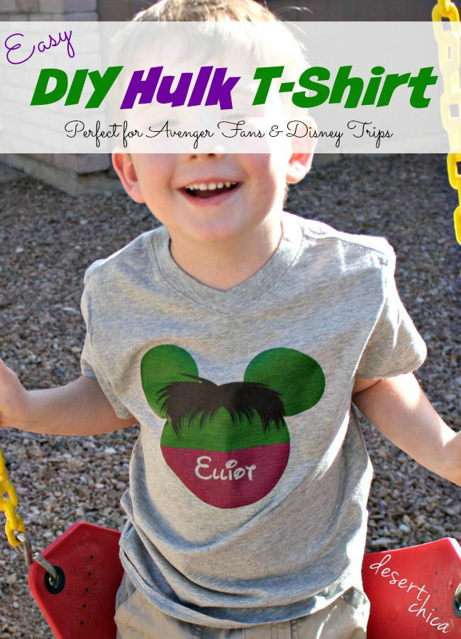 Easy DIY Hulk Shirt - I almost made one for me too! #AvengersEvent - #DisneySMMoms http://t.co/mlyd1WBupz http://t.co/9le8z7jpP3