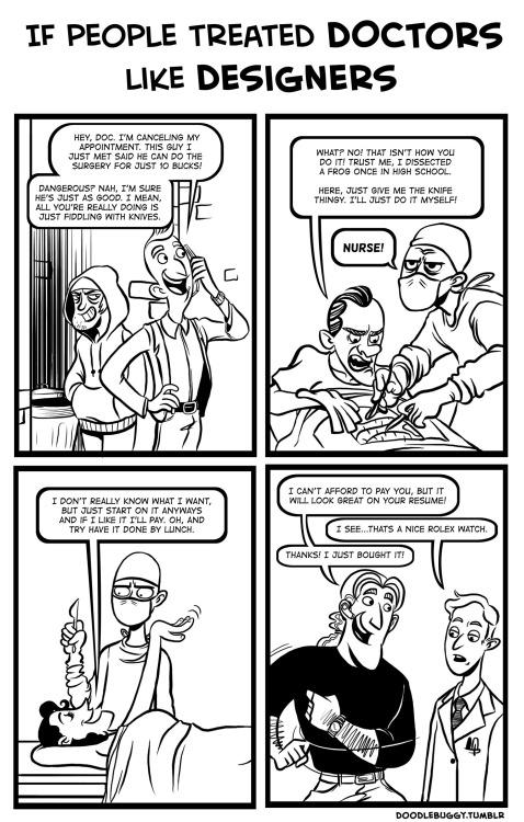If people treated doctors like designers http://t.co/6RDwRtpzR7