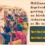 Asaram Bapu Ji never cares for defamation,Bapu Ji focuses on welfare of all mankind #HelpieDay https://t.co/SOxiZ1rSvO
