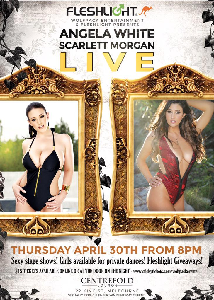 Get ready #Melbourne! I'll be appearing at Centrefold Lounge with the beautiful on April