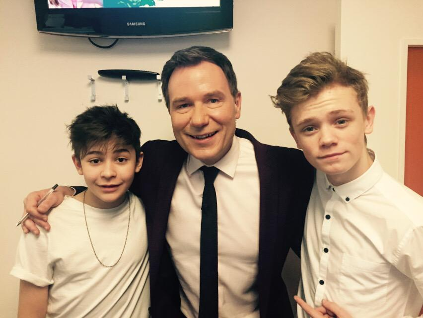 It @BarsAndMelody @GMB at 820 #StayStrongTour - off to Bournemouth tonight! #GMB #barsandmelody http://t.co/tzLrtNURCZ