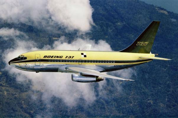 Today in 1967: Boeing's new 737 narrow-body airliner makes its first test flight... http://t.co/MXLJHrX4E2 #AvGeek http://t.co/KiNMkRi6El