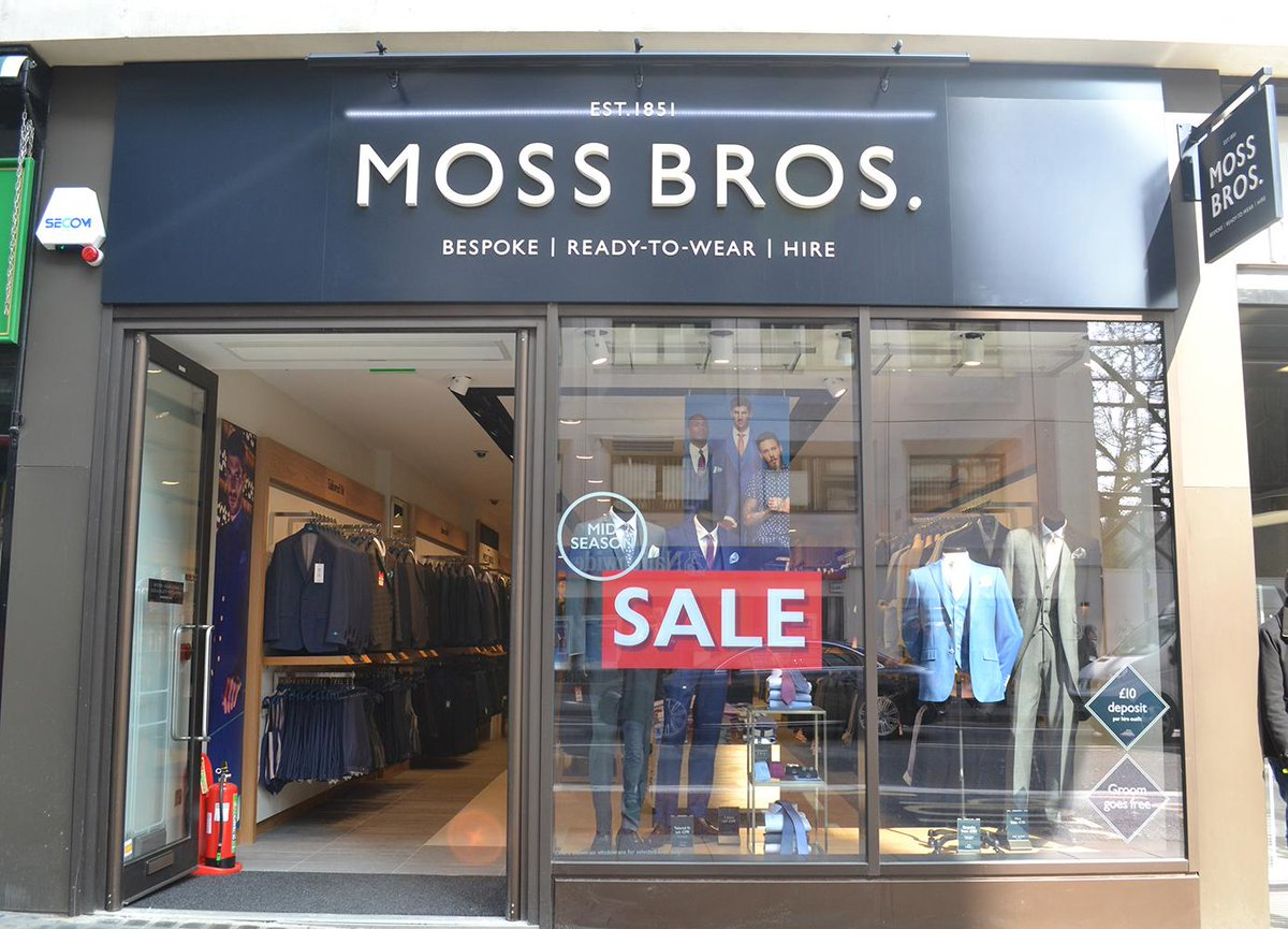 Moss Bros Launch New Label