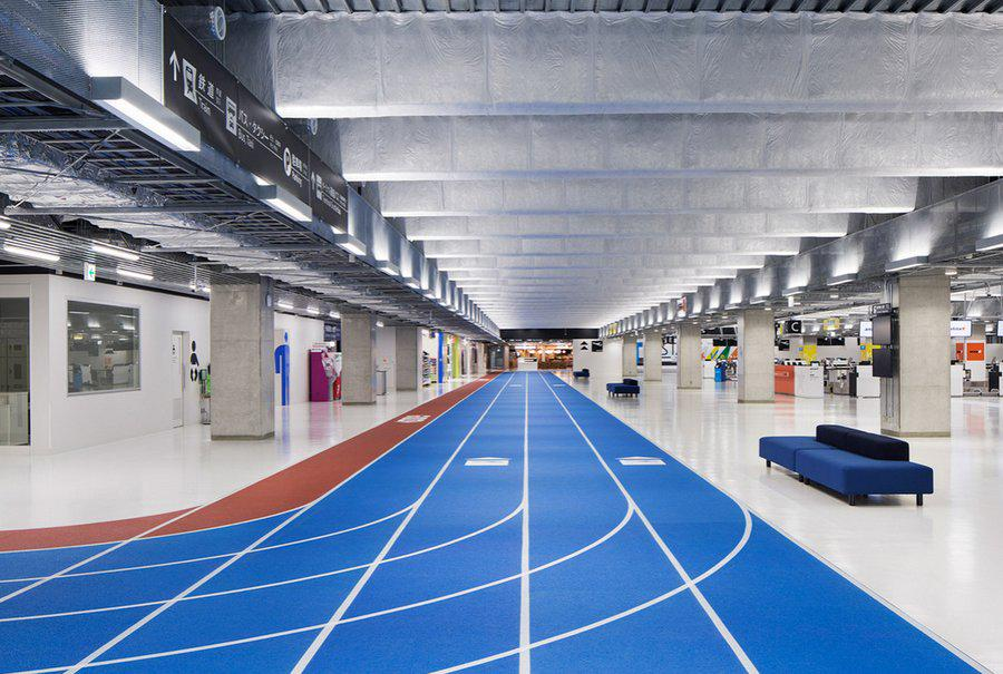Running Track At Tokyo's Narita Airport - http://t.co/zJmt9TDiCB http://t.co/BnuqfFvWJa @Japan_travel_JP @HyattRegencyTyo @kinosfault