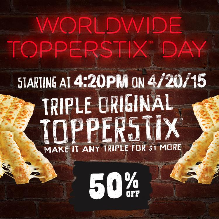 Brace yourselves. Worldwide Topperstix Day is coming. http://t.co/LmVRwMwTyB