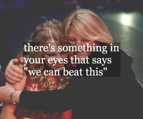 This provoked actual tears rolling down my cheeks. You're a fighter Andrea & you will beat this #PrayForMamaSwift