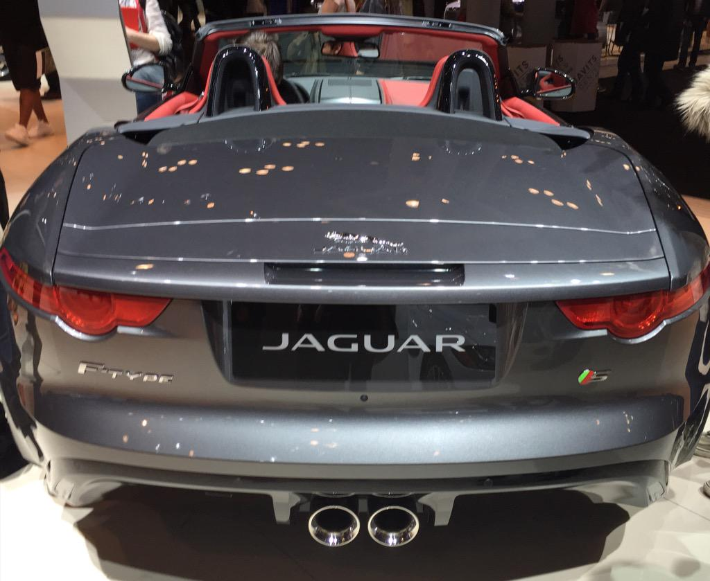 The @Jaguar #FTYPE at #NYIAS. Beauty from back to front! http://t.co/EM7ckYzNft