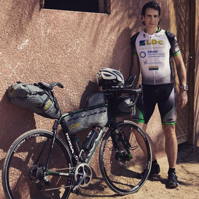 Packed, tested and ready to roll in the morning #AfricaSolo http://t.co/hF2dqgibOX