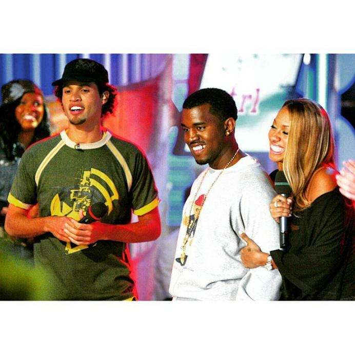 #TBT to #TRL. This pic's got me super nostalgic. We talked about College Dropout that day. #CLASSIC @kanyewest @lala http://t.co/b961Icsaab