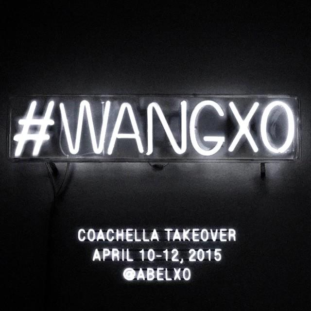 .@#TheWeeknd kicks off #Coachella & takes over the #AlexanderWang Instagram account: https://t.co/TENMccOGXk #WANGxo http://t.co/blzsi2FgcT