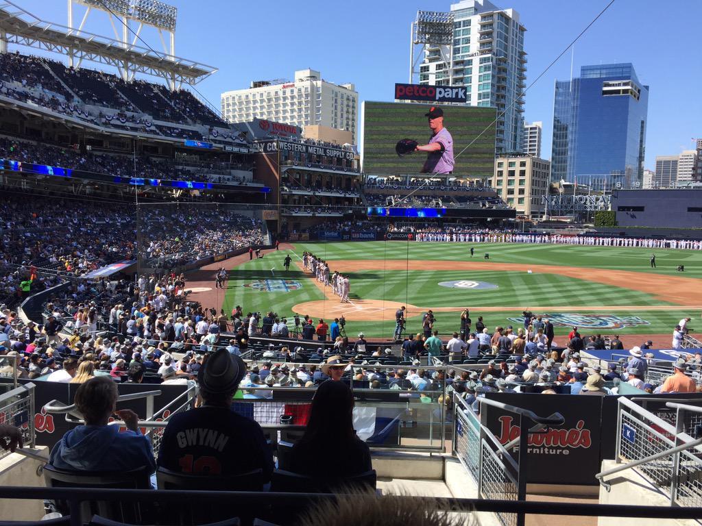 #SDOpeningDay #SFGiants vs #Padres http://t.co/3FlrLY7htR