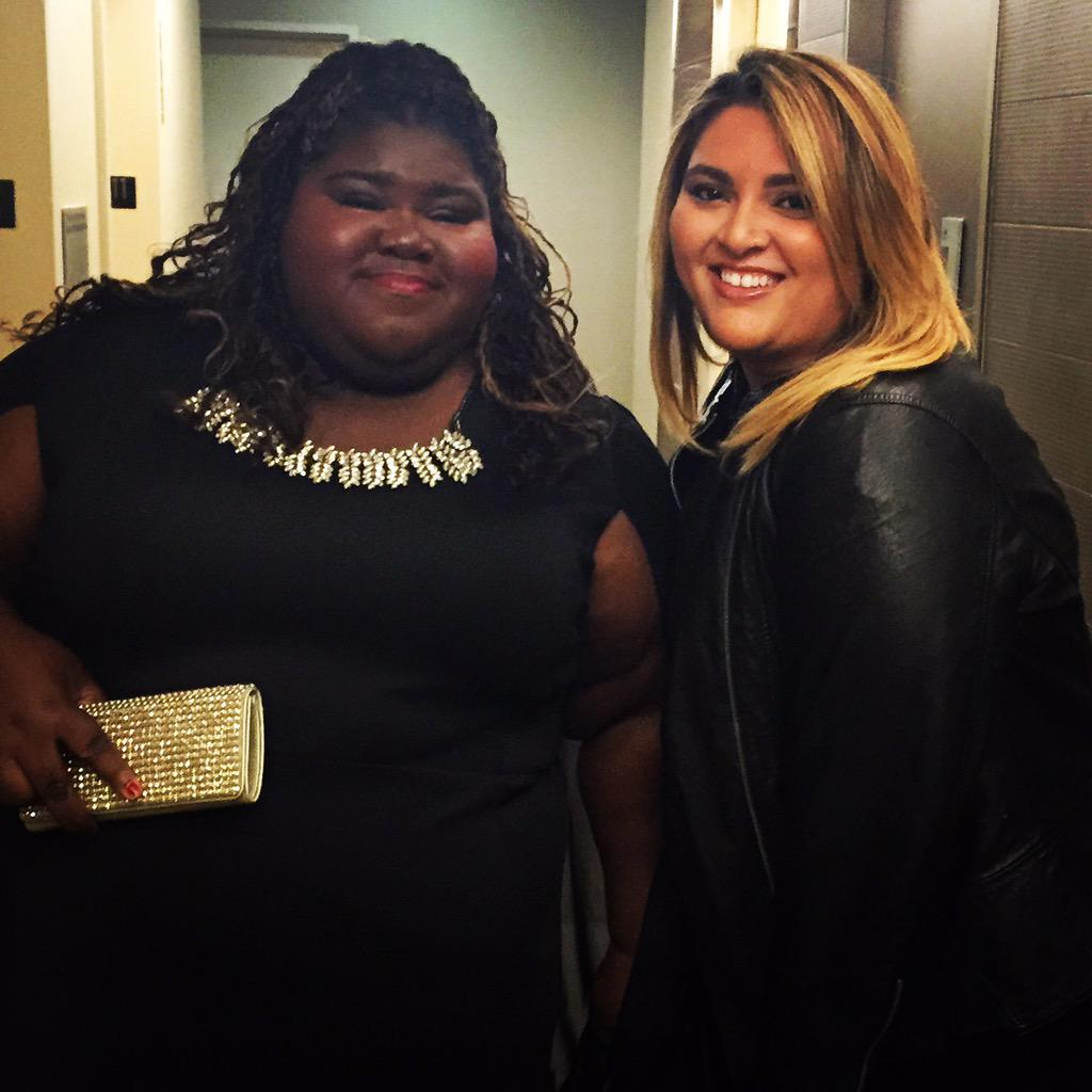 Nights like tonight are simply magical! @GabbySidibe in @zbyzevarra! #NANConvention2015 http://t.co/mFCwhqPiCA