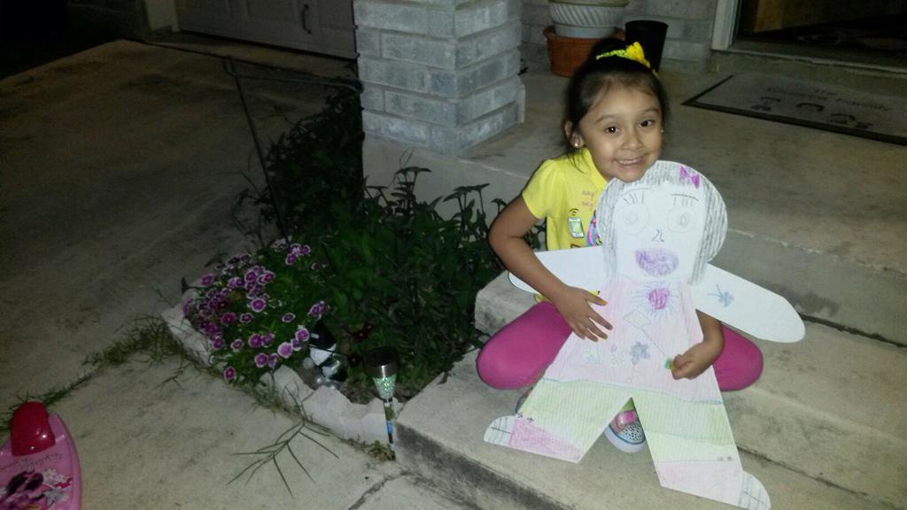 #CardboardKidsSA 😂 she did it with very little help 😊 http://t.co/kNbXX4NwAJ