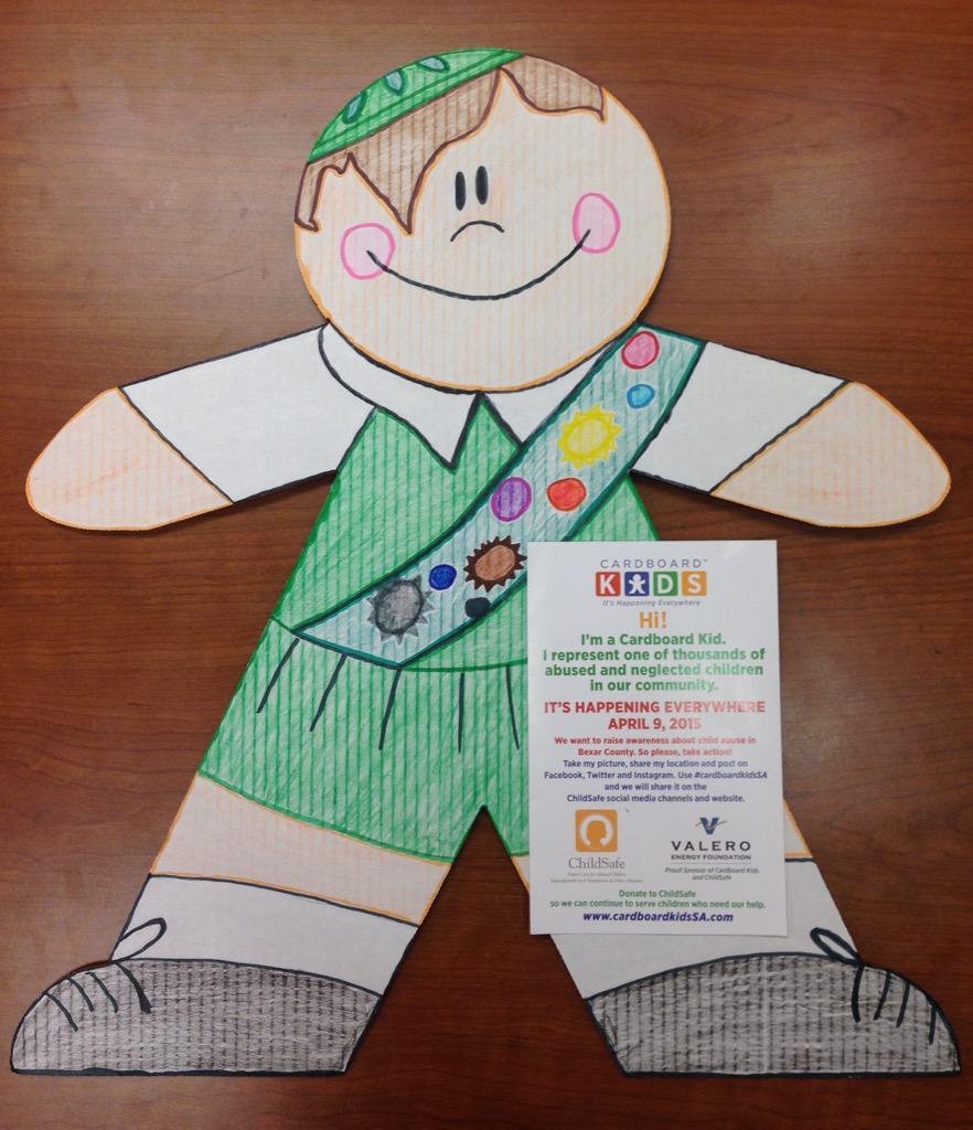 Hi! I'm a Cardboard Kid. It's happening everywhere April 9, 2015. #cardboardkidssa http://t.co/ORQVk0LvJo