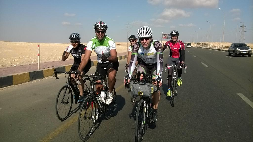 It's begun! Thanks for support to get me to start line! 10,000km to go! #AfricaSolo http://t.co/gAZdrHm9R7