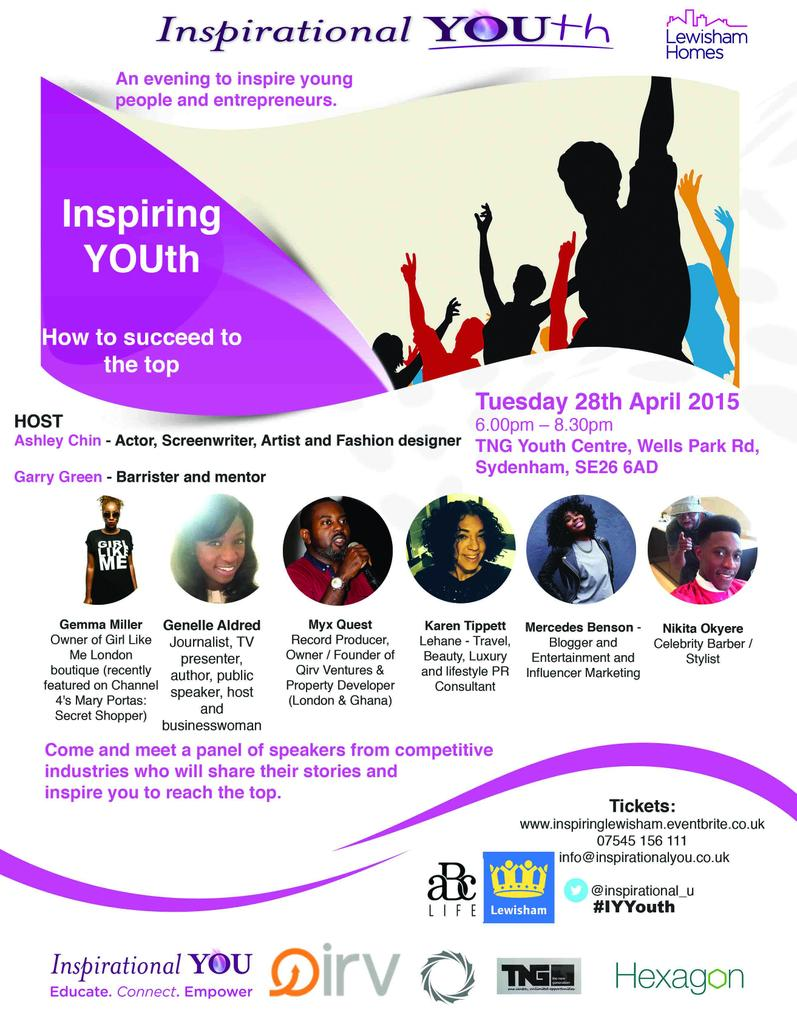 Our next @IY_Youth @Inspirational_U takes place on Tuesday 28th April.  http://t.co/svlYqE2Kq3 #IYYouth2015 http://t.co/7C4kguaWLc