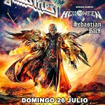 Sebastian Bach LIVE w @judaspriest   Madrid Spain JULY 26 2015 #GiveEmHell #RedemeerOfSouls https://t.co/rPcdZ6ydKQ http://t.co/zRgS5tqOq9
