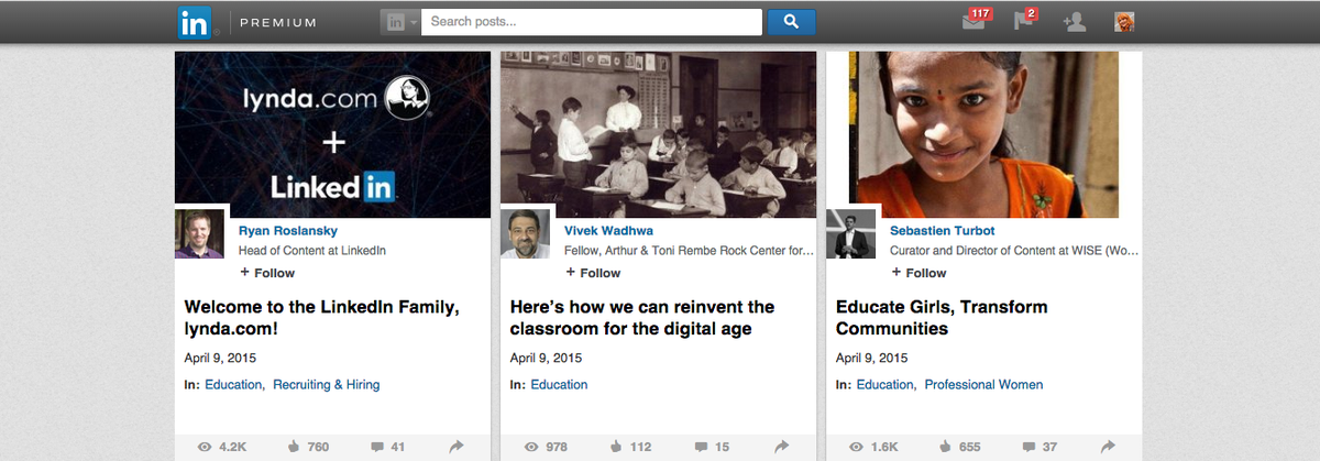 What does LinkedIn's acquisition of http://t.co/RVGYyb58Bs mean for #highered? http://t.co/0EtzeMKF9w http://t.co/FuAXoQUN1L