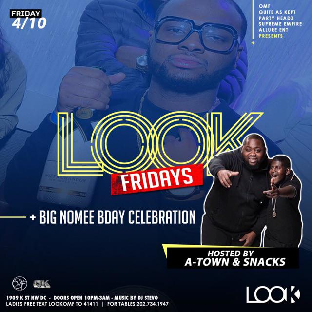 Everyone Stop What You Doing And Wish Our Very Own @MrNomee A Happy G'day!!! Tonight We Takin Over #LookFridays http://t.co/2KWiAXWiMM