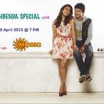 RT @SunMusic: Don't miss to watch #Nannbenda Spl Live Today @ 7pm ! @Udhaystalin @NayantharaU @iamsanthanam @JbrJagadesh @AnjanaVJ http://t…
