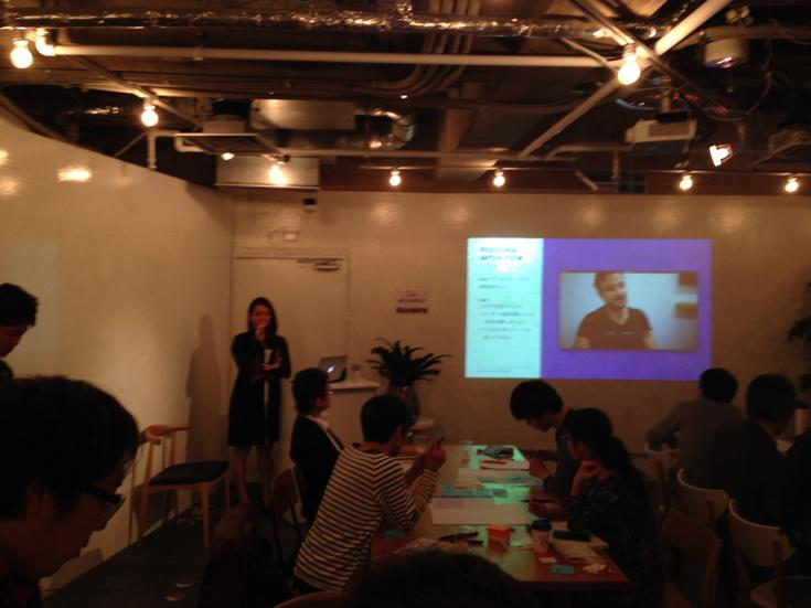 Ustwo ux bootcamp 開催中。短い時間で提案までつくるのでビシビシ進んでいってます! @mayunak #leanux http://t.co/ivVRrSPV5m