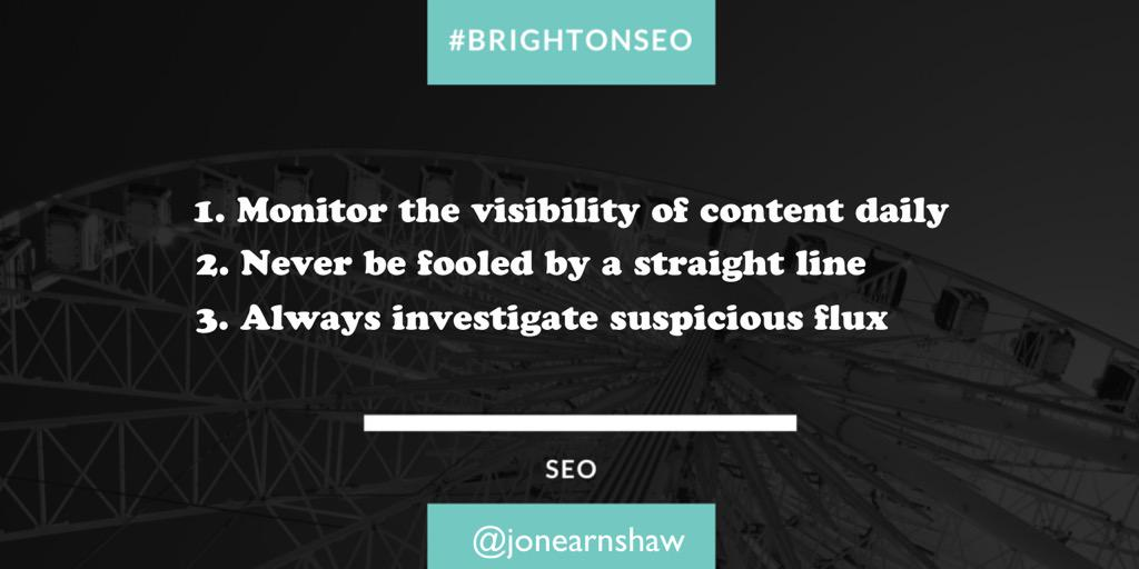 #BrightonSEO: cannibalisation – the #SEO's biggest nightmare. Takeaways from @jonearnshaw http://t.co/1WoYavx2AP http://t.co/PMhviZAoyf
