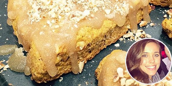 The solution to your breakfast rut: Jessa Duggar Seewald's glazed pumpkin scones 19Kids @TLC
