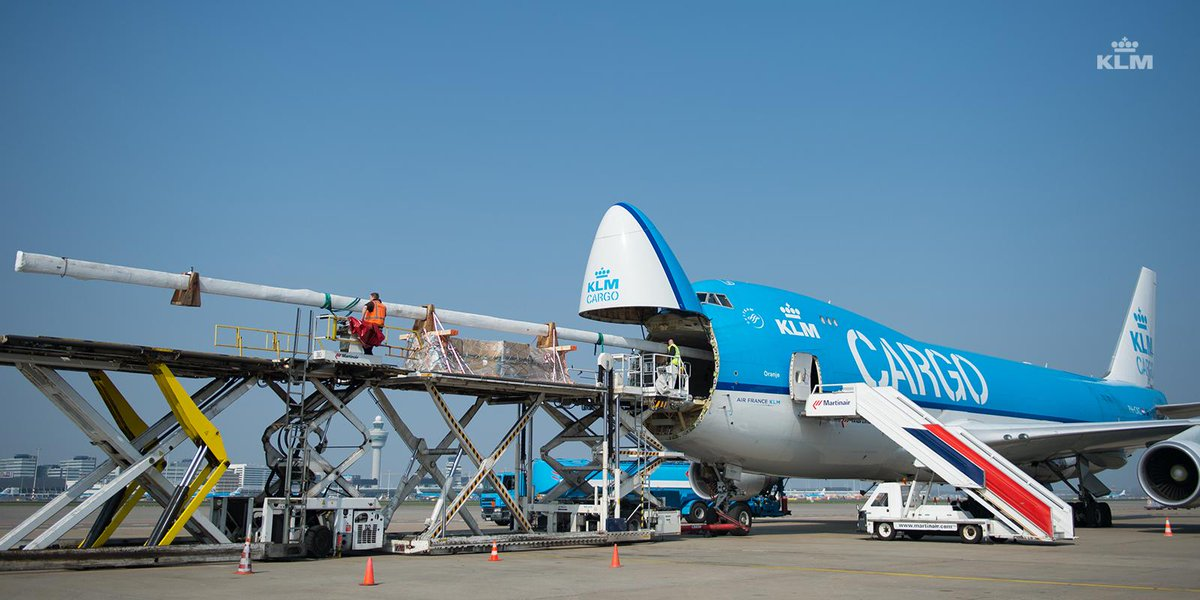 Air France-KLM-Martinair Cargo to bring spare mast to Volvo Ocean Race in Brazil.