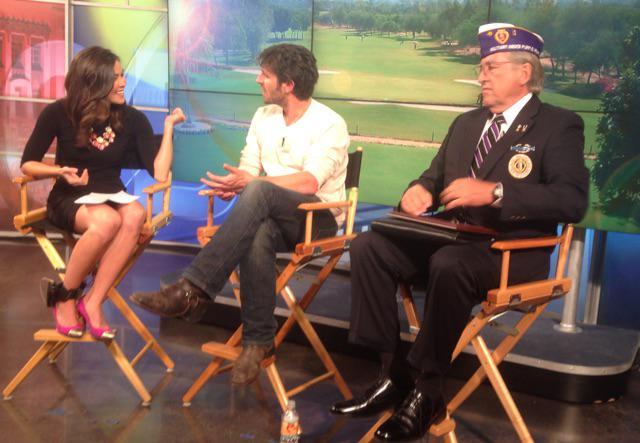Kim Tobin (@kimtobinkob): Interview w/ NBC's The Night Shift star @eoinmacken & Pete Comstock w/ Purple Heart about charity golf game @KOB4 http://t.co/3Ueyi2AHuf