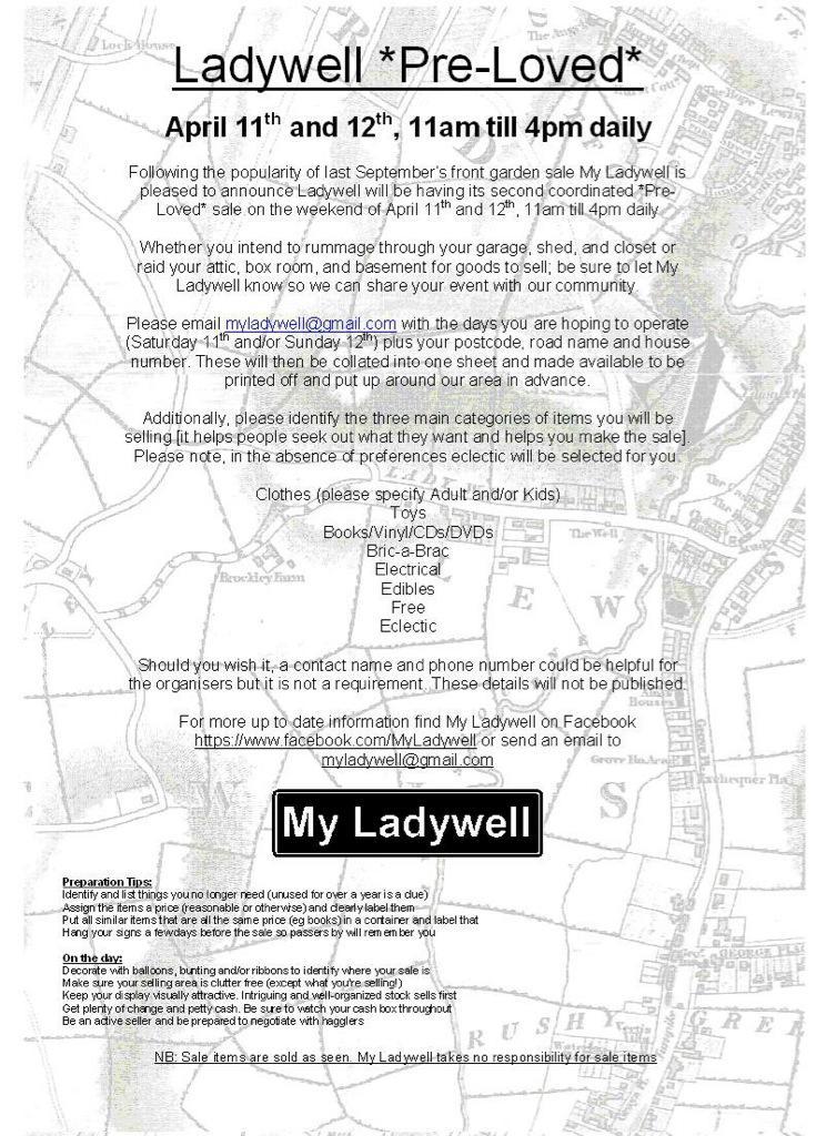 Having a yard sale on Manwood Road @CroftonParkLife @BrockleyCentral this weekend, women's fashion, accessories..etc http://t.co/WKV0N8N9Jy