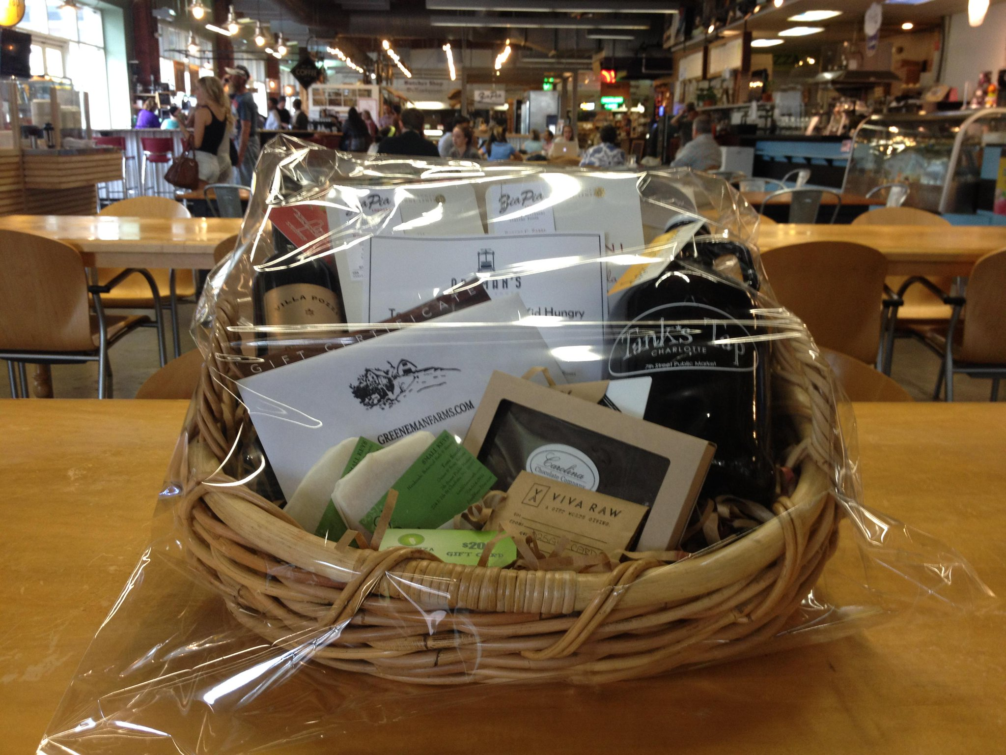 What a great #SilentAuction item from @7thPublicMarket businesses for the 20th Anniversary @TasteNationCLT! #TONCLT http://t.co/WJwhvRZIFi