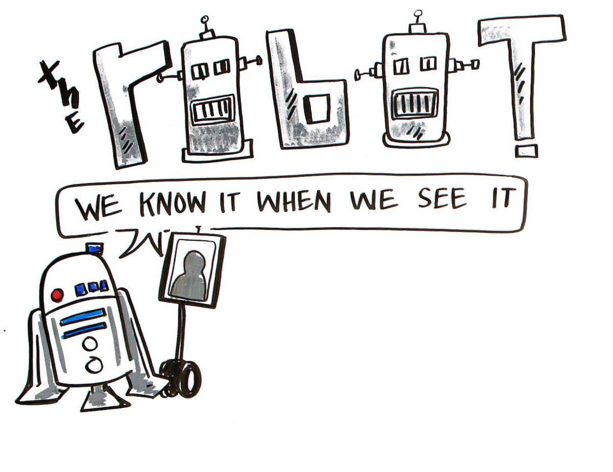 Robots now included at @IgniteGotham thanks to @doublerobotics.  Image thanks to @ImageThink! http://t.co/yFz6wH4GoB http://t.co/vfbRi6eScS