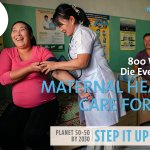800 women die every day from preventable maternal health complications. Let's ask govts to #StepItUp! #Beijing20 http://t.co/vfa53qXiM9