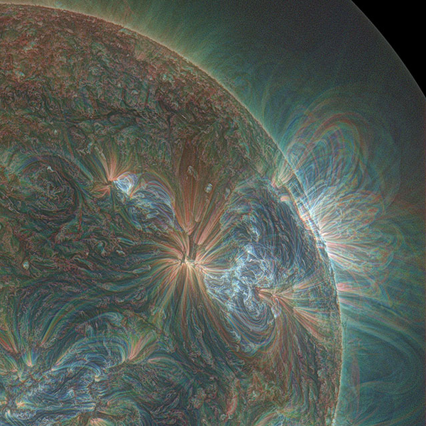 This is what the sun looks like when shot in Ultraviolet http://t.co/tiwuoPMYfP
