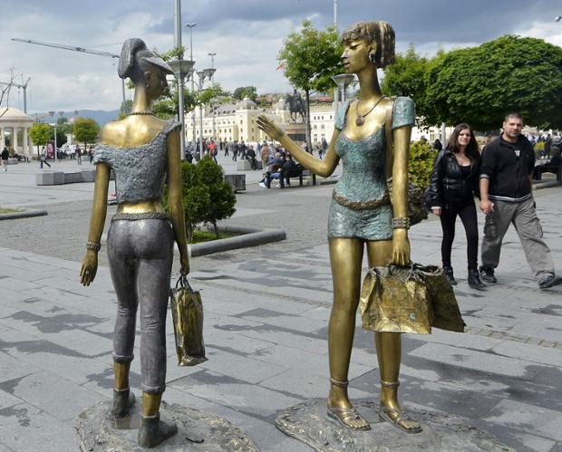 How Skopje, Macedonia, became Europe's new capital of