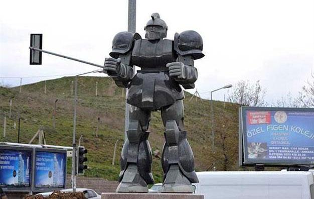 Controversy of the Day: Turkish Mayor Sued for Erecting Giant Robot Statue #RespectTheRobot http://t.co/PpVo1OI5lq http://t.co/Ukd2ZtSUYV