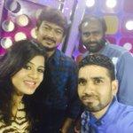 RT @BaalaKrish: Selfie with nannbenda team Thanks alot for their support @AnjanaVJ @JbrJagadesh @Udhaystalin http://t.co/VKrs6LbyCm