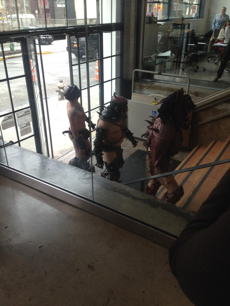uhh, GWAR is here: http://t.co/hCY8regxMc