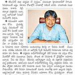 RT @sandeep_chowzz: @harish2you S Interview In Todays Eenadu abt His Journey At Bapatla..
