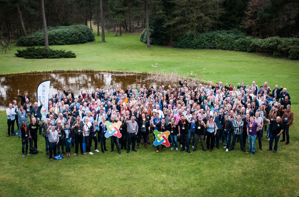 Cheers! 10th edition of @joomladagen! Thanks to all attendees, speakers, sponsors @ team over the past years! #jd15nl http://t.co/gIFWnEzgb0