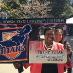 Image of csufwelcomeday, csufwelcome2015 from Twitter
