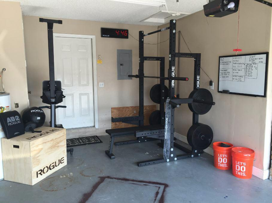 Rogue Fitness On Twitter Garage Gym Setup Courtesy Of Zalome Moscoso Http T Co Dtxgme3ajr Mis34ayqwe