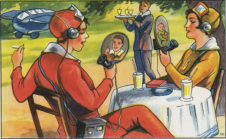 An eerily accurate vision of the future from a German magazine in 1930 - via Retrofuturism http://t.co/fXs2U8HQ6a